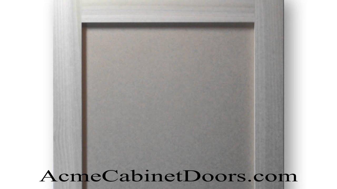 Paint Grade Shaker Cabinet Door Poplar Mdf Panel Youtube