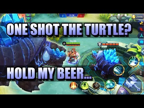 ONE SHOT THE TURTLE 🐢 ULTIMATE TURTLE ABUSE VIDEO?