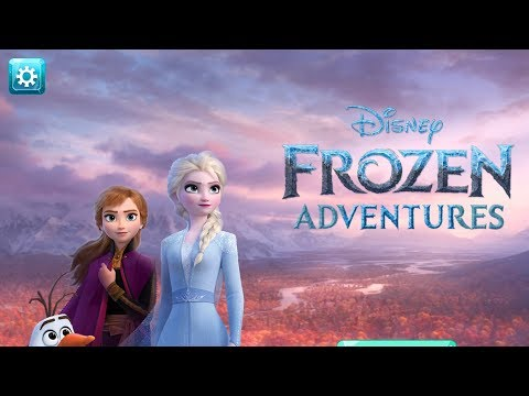 DISNEY FROZEN ADVENTURES - Gameplay Walkthrough Part 1 IOS / Android