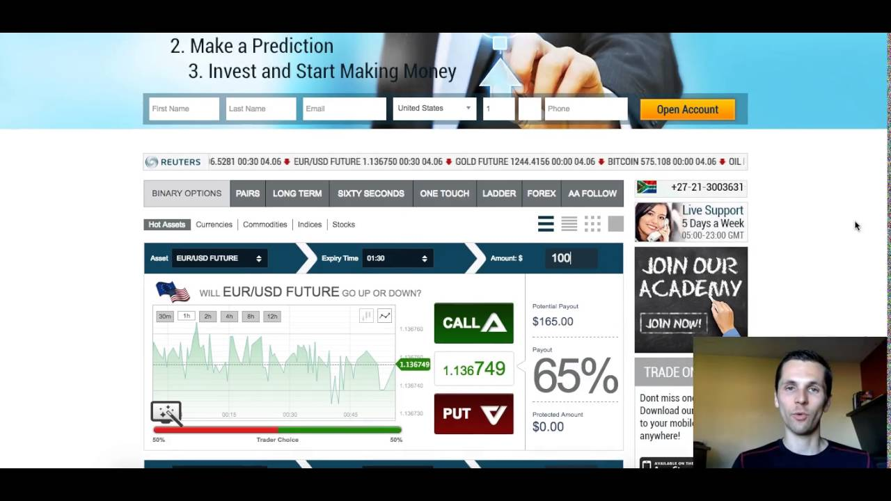 Safe binary options trading