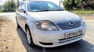 Обзор Toyota Corolla 2003 г.в. (Е120) 4WD