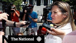 No NAFTA deal heading into deadline day