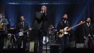 The National - Afraid of Everyone on Letterman 5-13-2010