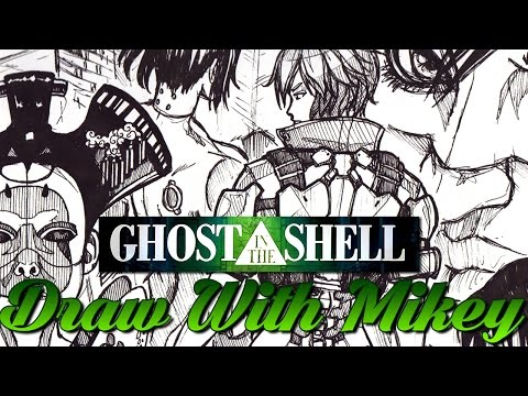 Ghost In The Shell thoughts? - Draw With Mikey 42