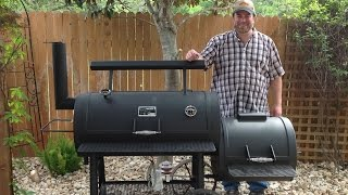 offset smoker fire management how to video
