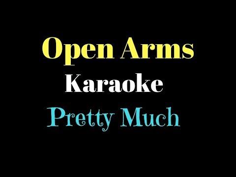PRETTYMUCH - Open Arms (Karaoke)