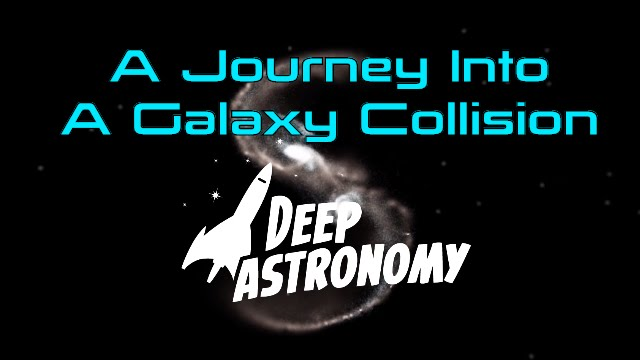 Download A Journey into a Galaxy Collision