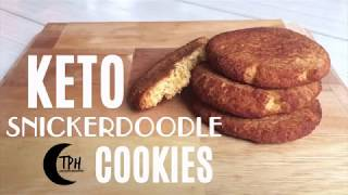 Soft Keto Cinnamon Cookie Recipe