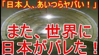 【海外の反応】「もう日本人は訳がわからん!」 日本の洪水災害対策のスケールの大きさが尋常じゃないと外国人に大反響!!「日本さすがです」【LIVE JAPAN TV】