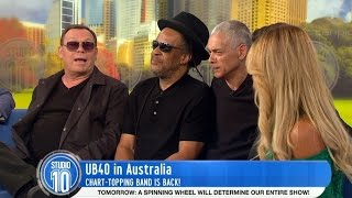 UB40's Ali, Astro and Mickey joined us in the studio to talk about ...