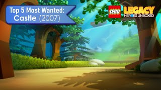 Top 5 Most Wanted Castle (2007) - Lego Legacy: Heroes Unboxed