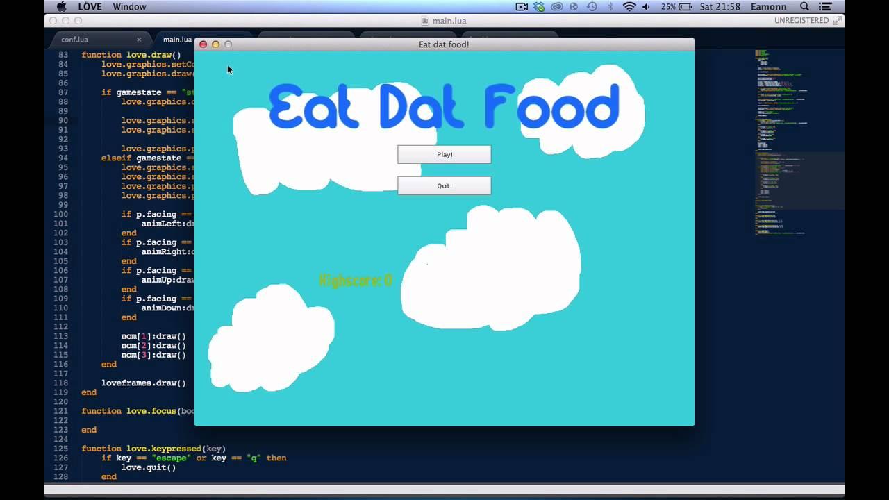 LÖVE(Love2d) Programming Tutorial #16: Highscores & Logos! by sonic2kk