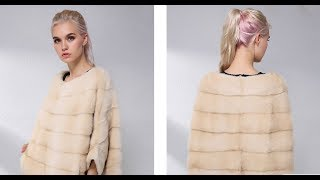 AliExpress Review: Casual Natural Real Mink Fur Coat For Women