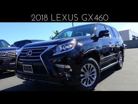 2018 Lexus GX460 4.6 L V8 Review & Test Drive