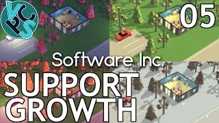 Software Inc EP05: Support Growth – Alpha 10, Hard Mode