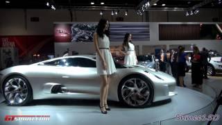 Jaguar C-X75 - Dubai Motorshow 2011 with GTspirit.com