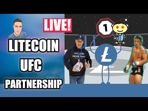 LITECOIN PARTNERS W/ UFC 232 - LTC Live Stream