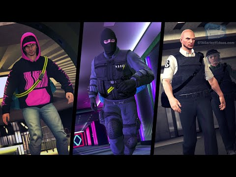 GTA Online The Diamond Casino Heist - All Entrance And Exit Options