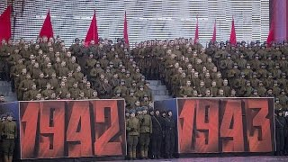 Russian communists commemorate 1917 revolution