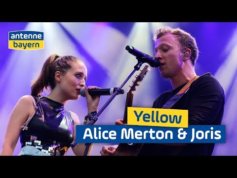 Alice Merton & Joris | Yellow | Coldplay Cover | Sommer Im Park | ANTENNE BAYERN