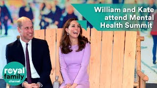Prince William and Kate's attend Mental Health Summit