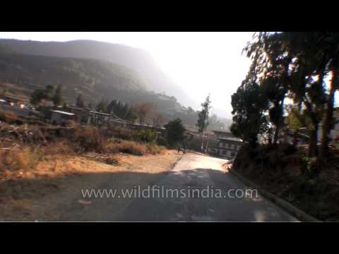 Journey from Chime Lhakhang to Dochula, Bhutan