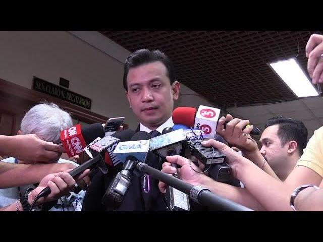 Trillanes insists accusations vs Duterte are true