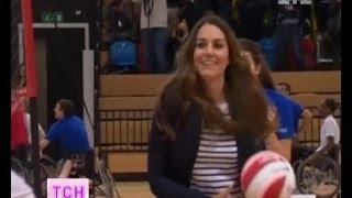 Герцогиня Кейт Міддлтон вийшла на спортивну арену