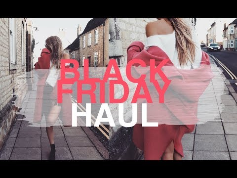 BLACK FRIDAY SALES HAUL 2017 | TOPSHOP, CHLOE, ACNE, ASOS | SINEAD CROWE
