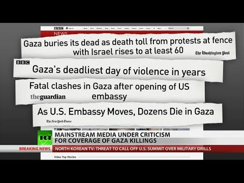 Examined: Gaza massacre media bias