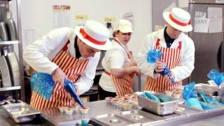 Ant &amp Dec learn how to make strawberry and custard tarts