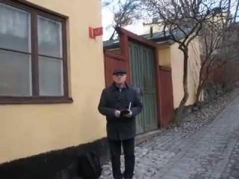 Slas kort film intro från Skinnarviksgränd