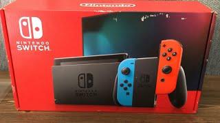 Unboxing Nintendo Switch en 2021 :)