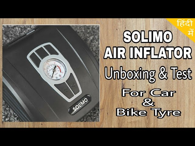 Solimo Air Inflator for Car & Bike Tyre