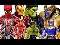 Avengers Minimates Go~! Iron Man, Hulk, Captain America, Spider-Man, Thanos! Thor!