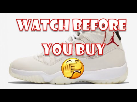 Air Jordan 11 Platinum Tint Early Review! (Watch Before You Buy!) (Mall Vlog!)