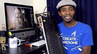 Logitech K800 Wireless Keyboard Unboxing