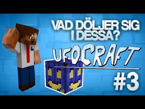 VAD DÖLJER SIG I DESSA? | Minecraft UfoCraft - #3