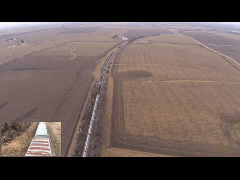 Iowa Interstate IAIS Railroad on Cedar Rapids and Iowa City CR & IC Railway