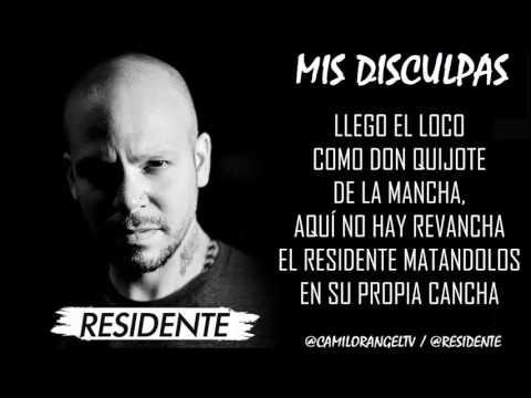 MIS DISCULPAS - RESIDENTE (LETRA) (RIP TEMPO)