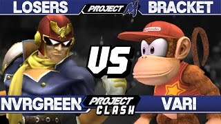 PC 11 - Vari (Diddy Kong) vs Nevergreen (Captain Falcon) - PM Losers - Project M