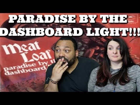 Meat Loaf - Paradise By The Dashboard Light Reaction!!