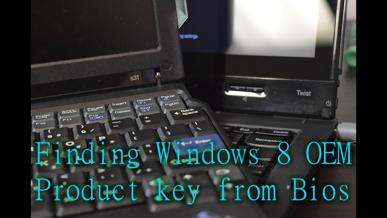how to find windows 8.1 product key in lenovo laptop