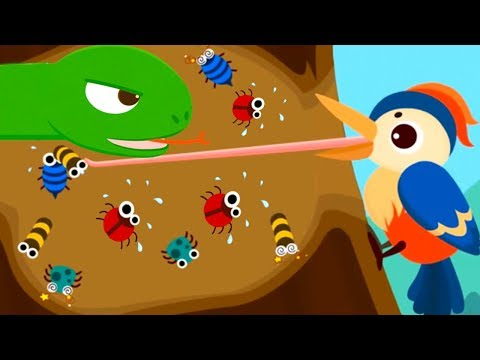 Baby Panda Animals Educational Game - Kids Learn Forest Animals In Baby Panda Friends Of The Forest