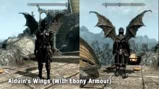 Skyrim Mod Spotlight: Alduin's Wings, The Undercity, Sit Animation