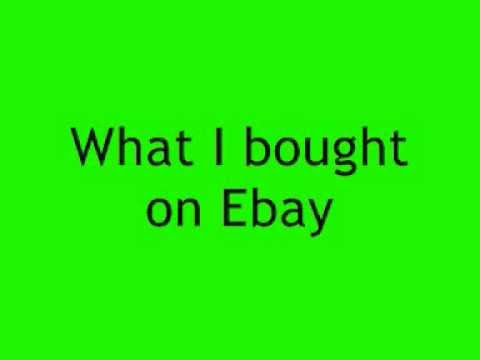 Ebay Song, Weird Al Yankovic: Lyrics