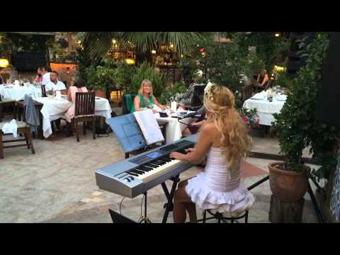 Live music and fine dining at Izela Restaurant, Kayaköy, Turkey