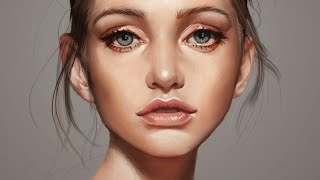 How to  Create Photo to digital painting effect  | photoshop cc 2019 | Easy editing tutorial