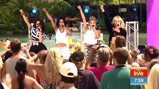 G.R.L. - Ugly Heart (Live) - Sunrise - 10th March 2015