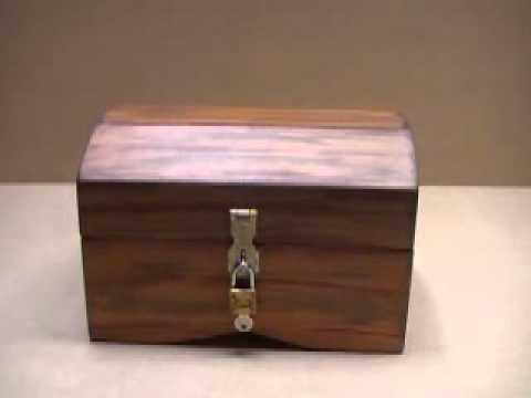 Cofres de madera para regalo